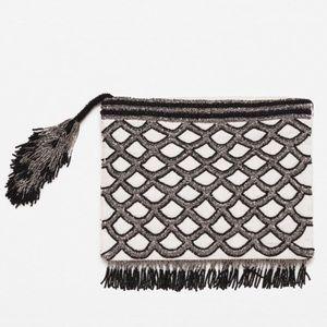 Beaded Zara clutch